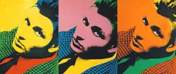 Silkscreen portraits by Tom Wegrzyn