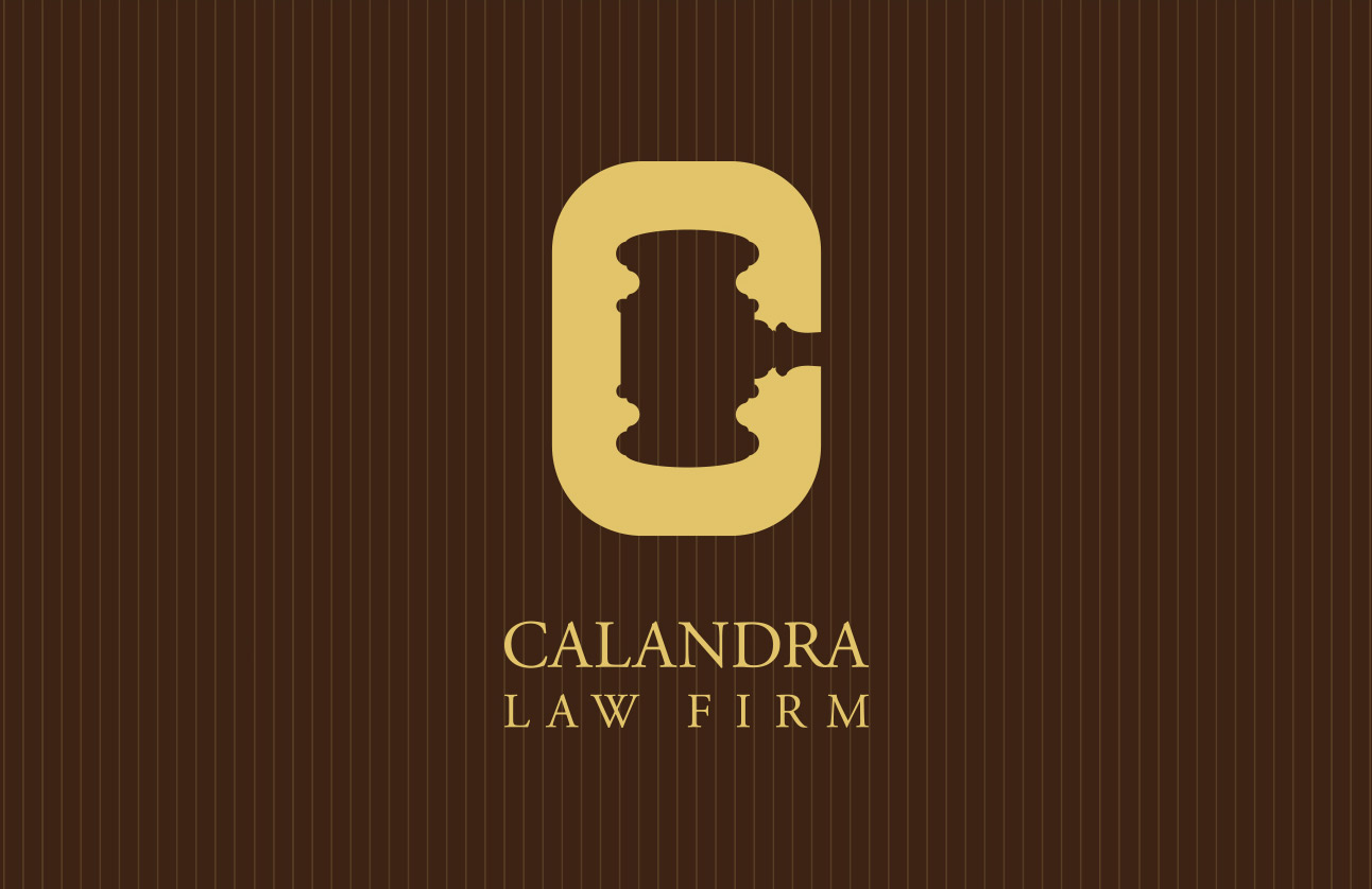 Calandra logo design by Tom Wegrzyn