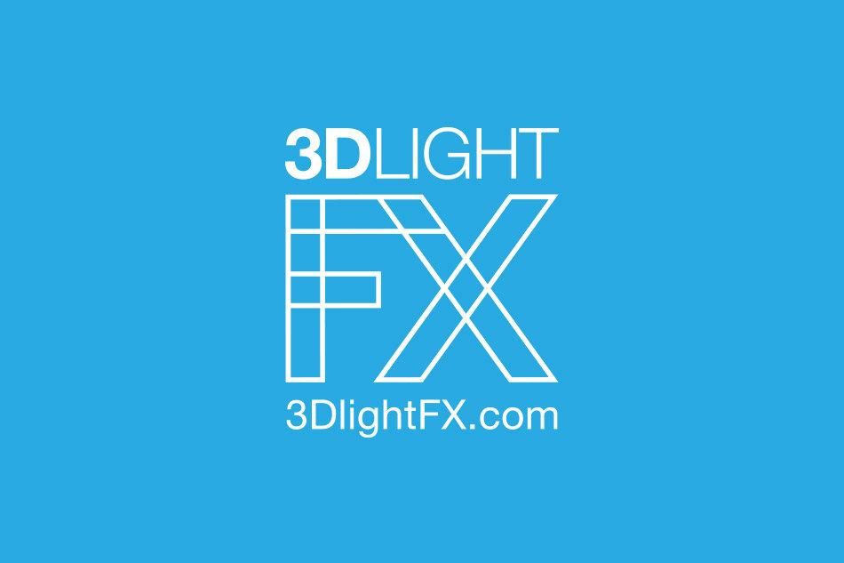 3D light FX logo in reverse for 3Dlightfx by Tom Wegrzyn, an internationally award winning artist, designer, inventor living in West Palm Beach, Florida. Tom Wegrzyn specializes in Brand Development, Design, Portraits, Paintings, Illustration, and Photo-Retouching.