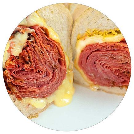 Manzo's Deli - Hot Pastrami Sub