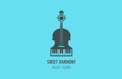 Sweet Harmony logo by Tom Wegrzyn
