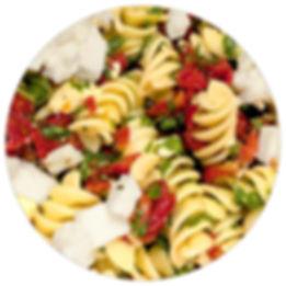 Manzo's Deli rotini pasta salad