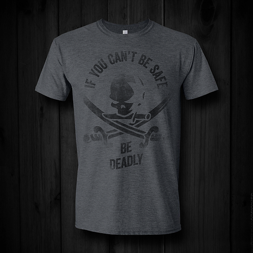 Be Deadly 2020 Tee | Dark Grey