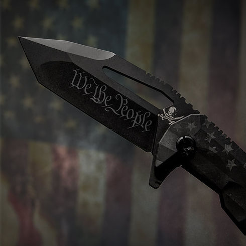 AMERICAN PHANTOM CUSTOM TACTICAL FOLDER KNIFE