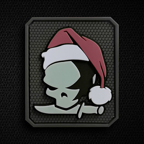 Holiday 3D Skull Glow-in-the-Dark 3 X Patches