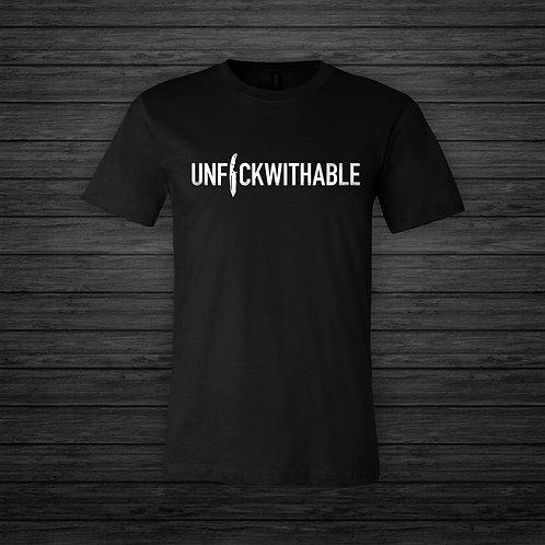UNF*CKWITHABLE Printed Tee | Black