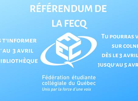Référendum de la FECQ