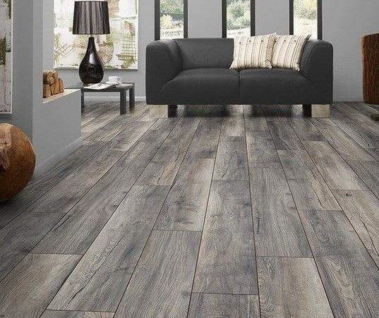 gray hardwood floor