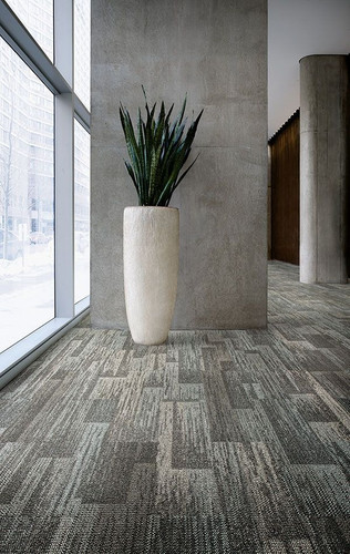 greige carpet tile