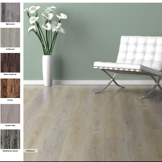 natural white oak floor
