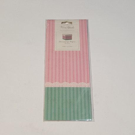 ViviGade Decopatch Paper 10 Sheets Skagen Pink