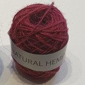Natural Hemp 30m Red
