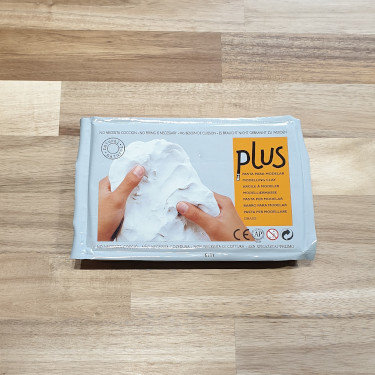 Plus Self-Hardening Clay White