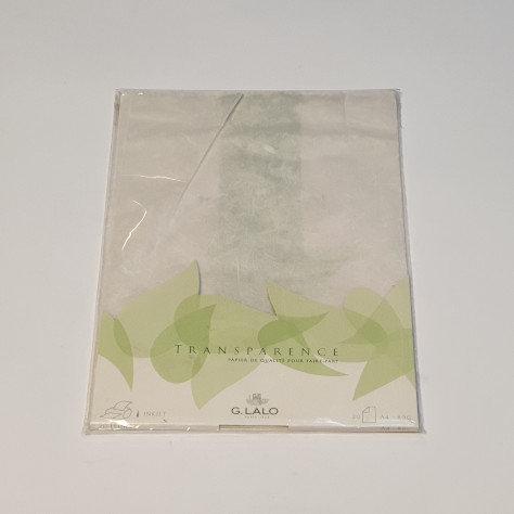 G.LALO Transparent A4 20 Sheets