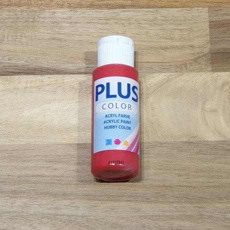 Plus Color Acrylic Paint Crimson Red 60ml