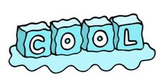 Digital Ice cube Illustration