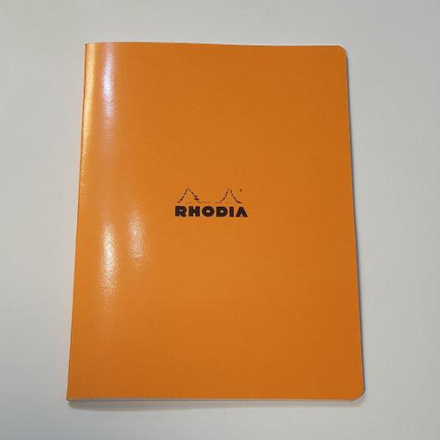 Rhodia Orange Square Notebook 21x29.7cm