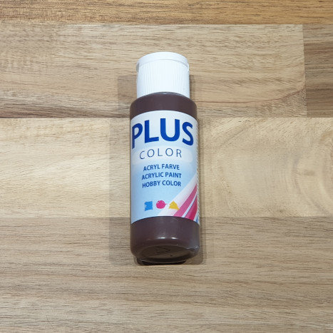 Plus Color Acrylic Paint Chocolate 60ml