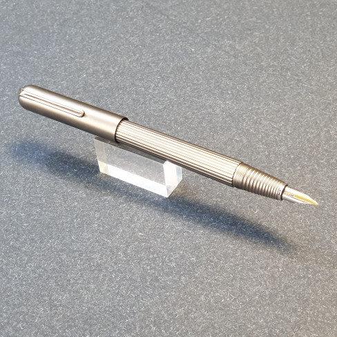 Lamy Imporium Fountain Pen Titanium
