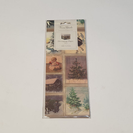 ViviGade Decopatch Paper 10 Sheets Oslo Christmas