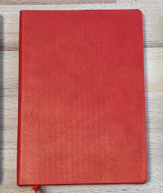 Red A5 Flame Tree Notebook