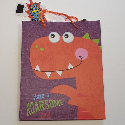 design group Gift Maker Celebration Dinosaur Gift Bag