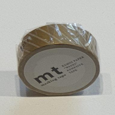 Masking Tape Stripe Gold
