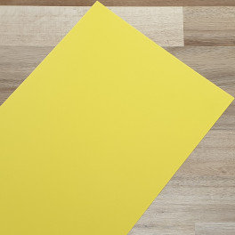 Smooth Coloured Card Straw Yellow A4 270gsm