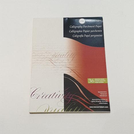 Manuscript Calligraphy Parchment Paper
