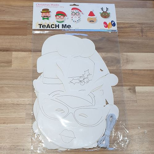 Teach Me Christmas Masks