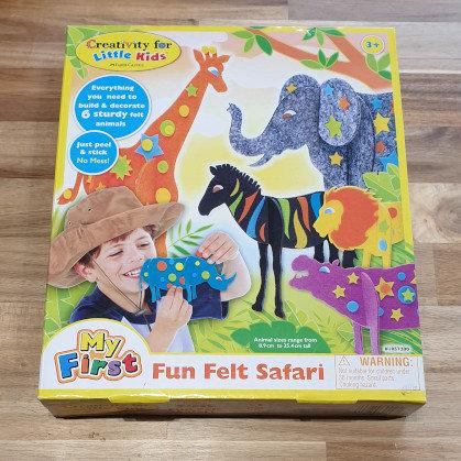 Creativity for Kids Fun Felt Safari