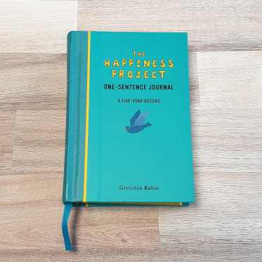 The Happiness Project One-Sentence Journal