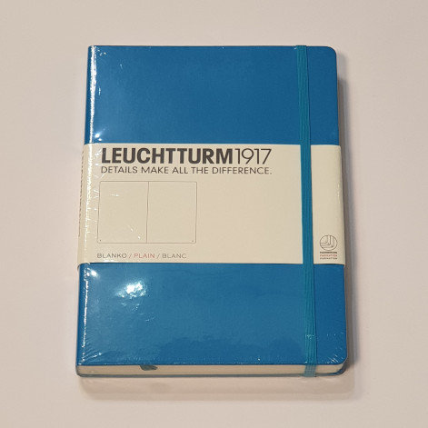 Leuchterm A5 Medium Notebook Hardback Azure