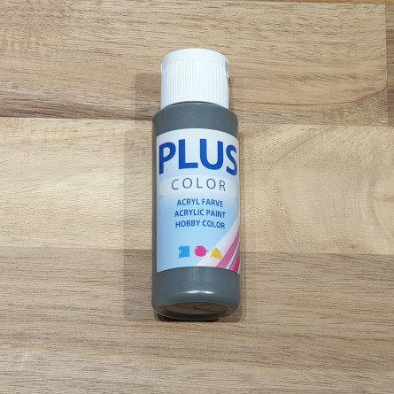 Plus Color Acrylic Paint Dark Grey 60ml
