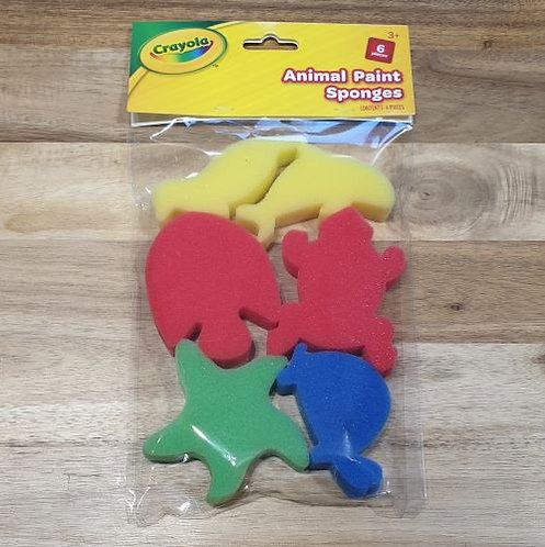 Crayola Animal Paint Sponges