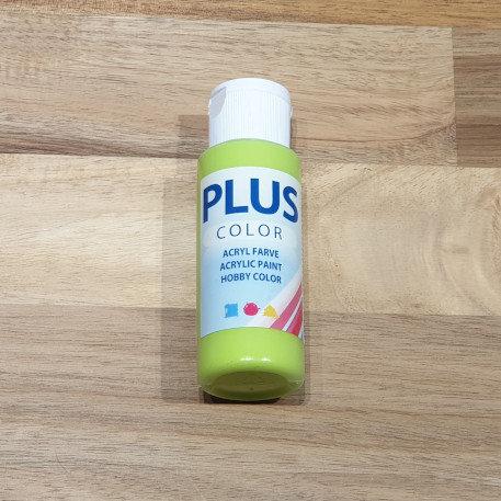 Plus Color Acrylic Paint Lime Green 60ml