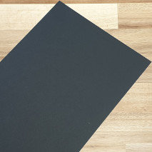 Smooth Coloured Card Black A4 270gsm