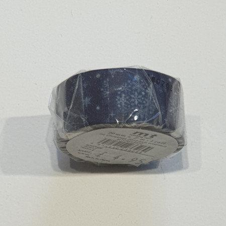 Masking Tape Blue Ornament