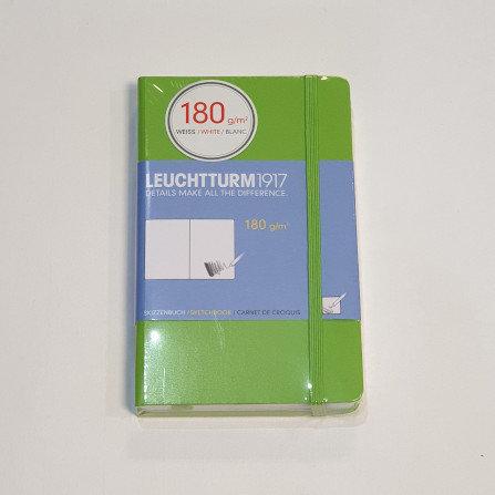 Leuchterm A6 Sketchbook Fresh Green