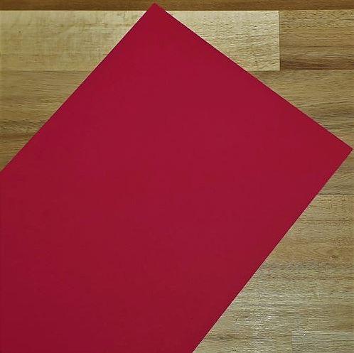 Smooth Coloured Card Red A1 120gsm