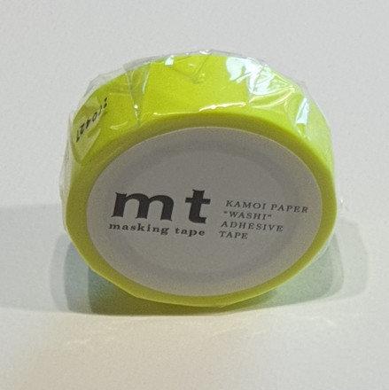 Masking Tape Shocking Yellow