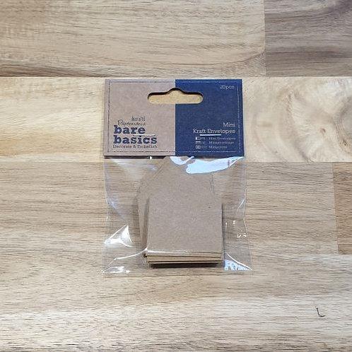 docrafts Mini Kraft Envelopes