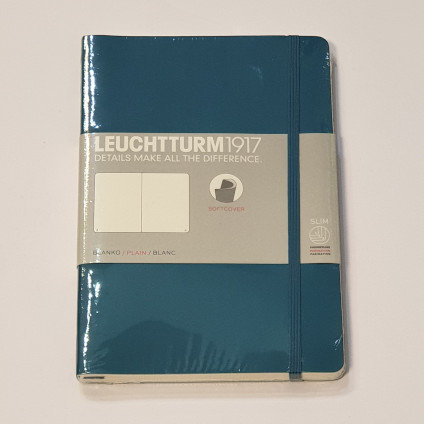 Leuchterm B5 Composition Notebook Softcover Pacific
