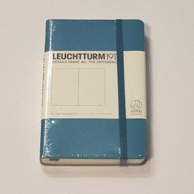 Leuchterm A6 Pocket Notebook Hardback Pacific
