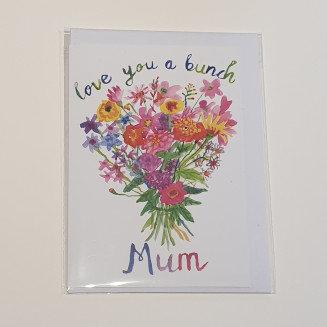 Rosie Webb Love You a Bunch Mum Card