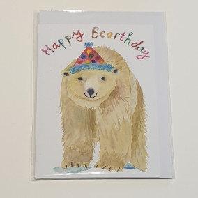 Rosie Webb Happy Birthday Polar Bear Card