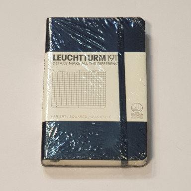 Leuchterm A6 Pocket Notebook Hardback Navy