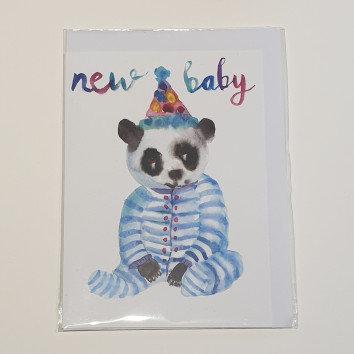 Rosie Webb New Baby Panda Card