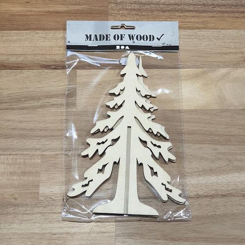 Made of Wood Christmas Tree