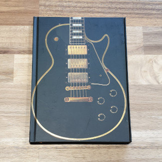 Guitar Flame Tree Notebook